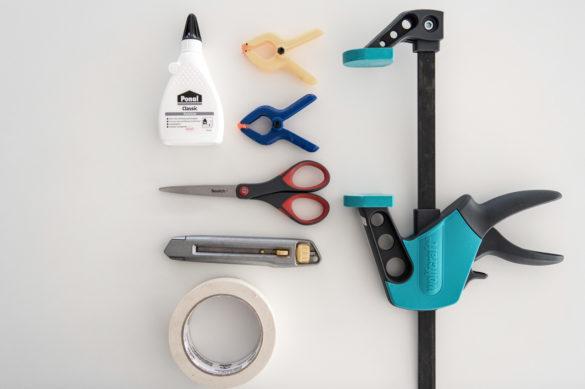 Materialbedarf Werkzeug