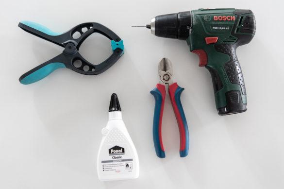 Werkzeug für Mini Couchtisch Spielzeug