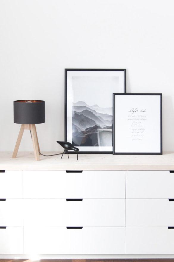 Ikea Hack mit Nordli Kommode